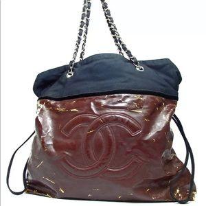 7bc5bd8e211a CHANEL · Chanel double chain shoulder bag
